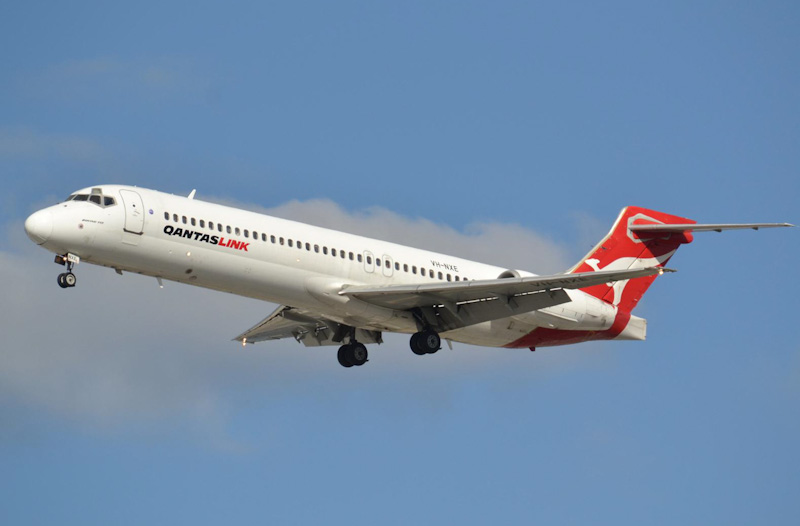 Pic of a Qantas 717