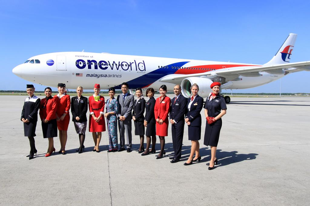 Malaysia Airlines joins Oneworld airline alliance – Airbus A330 ...