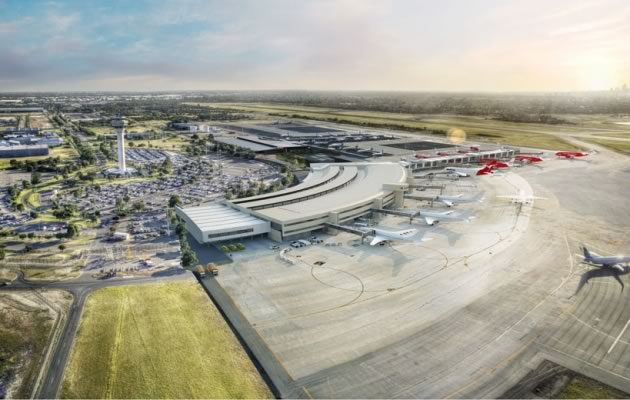 Perth Airport redevelopment