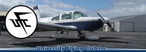 University Flying Club logo