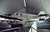 """D-1925"" ""Atlantis"" Junkers W33c replica at the RAAFA Museum in 1987"