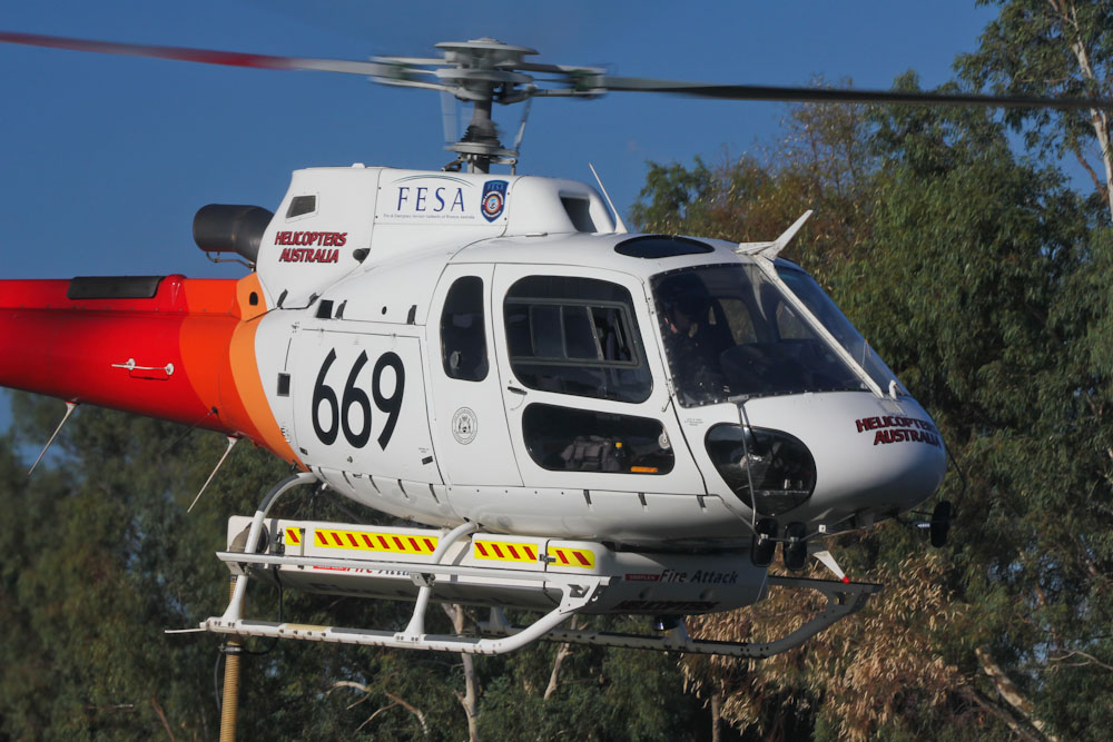 VH-WCD / 669  Eurocopter AS350B3 Squirrel  (cn 3266)  Helicopters Australia