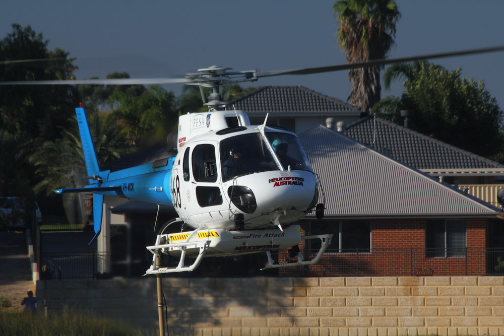 VH-WCN / 668  Eurocopter AS350B3 Squirrel  (cn 3190)  Helicopters Australia