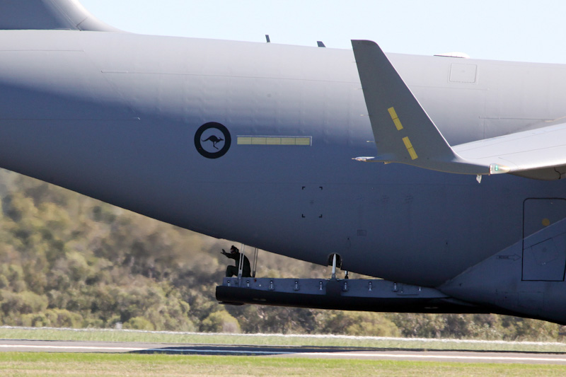 A41-210 Boeing C-17A Globemaster III (cn F-239/AUS5, ex 11-0210) of RAAF, 36 Sqn, based at Amberley, QLD at RAAF Pearce Air Show - Sat 19 May 2012.