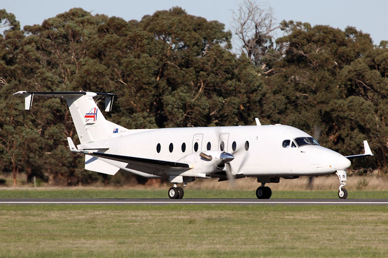 VH-NOA Beech 1900D (cn UE-94) of Ad Astral Aviation at RAAF Pearce Air Show - Sat 19 May 2012.