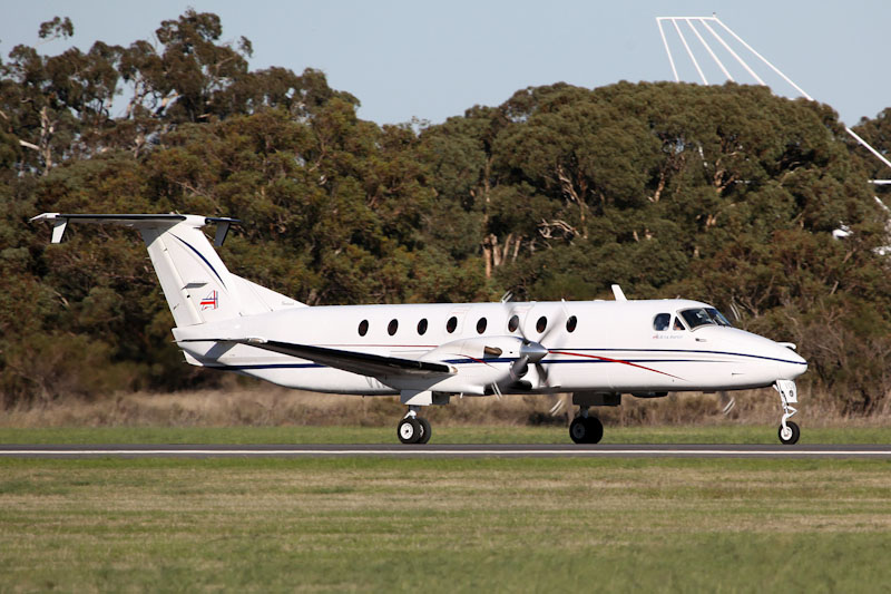 VH-VOA Beech 1900C (cn UB-62) of Ad Astral Aviation at RAAF Pearce Air Show - Sat 19 May 2012.
