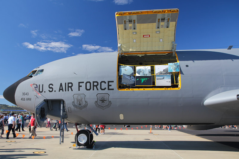 62-3543 Boeing KC-135R Stratotanker (cn 18526) of USAF Reserve, 756th ARS, 459th ARW, Andrews AFB, Maryland, USA at RAAF Pearce Air Show - Sun 20 May 2012.