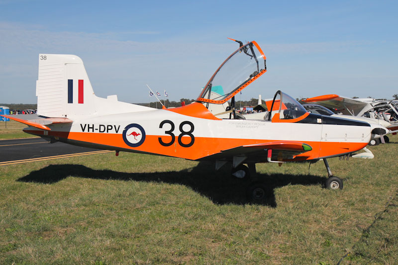 VH-DPV / 038 NZAI CT/4A Airtrainer (cn 038) owned by Brian Collingridge at RAAF Pearce Air Show - Sun 20 May 2012. Photo © David Eyre