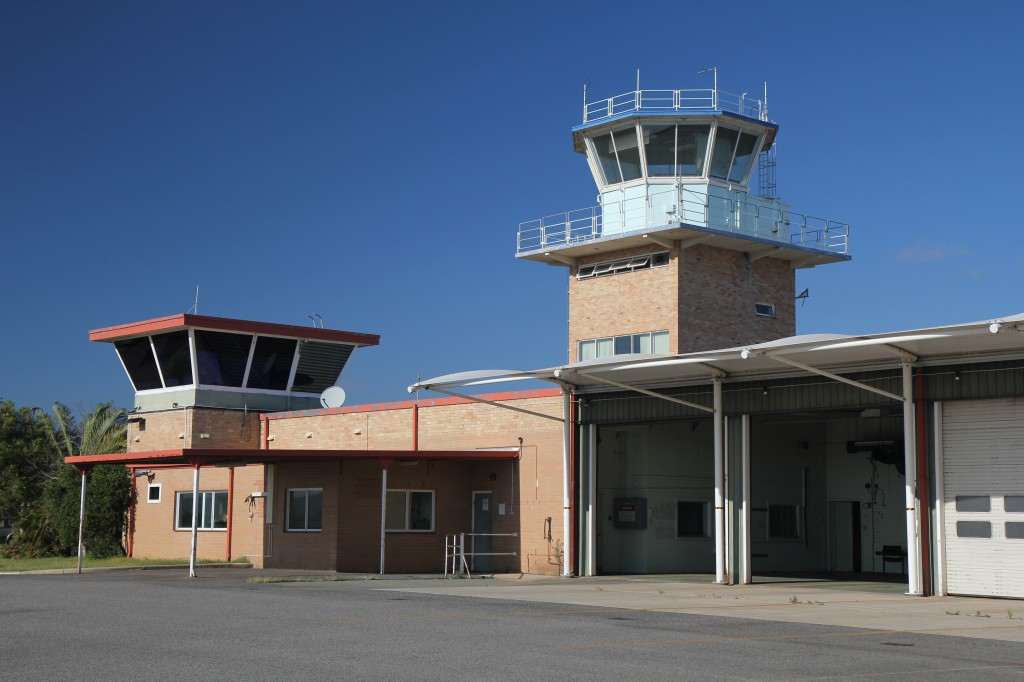 20110217_041 Perth Airport 1962 Control Tower and ARFF station at PER