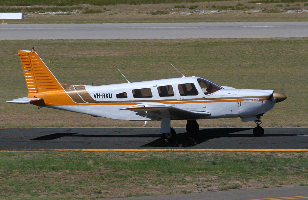 VH-RKU Piper PA-32R-300 Cherokee Lance (cn 32R-7680375) of Air Australia International Pty Ltd at Jandakot Airport - Fri 22 March 2013.
