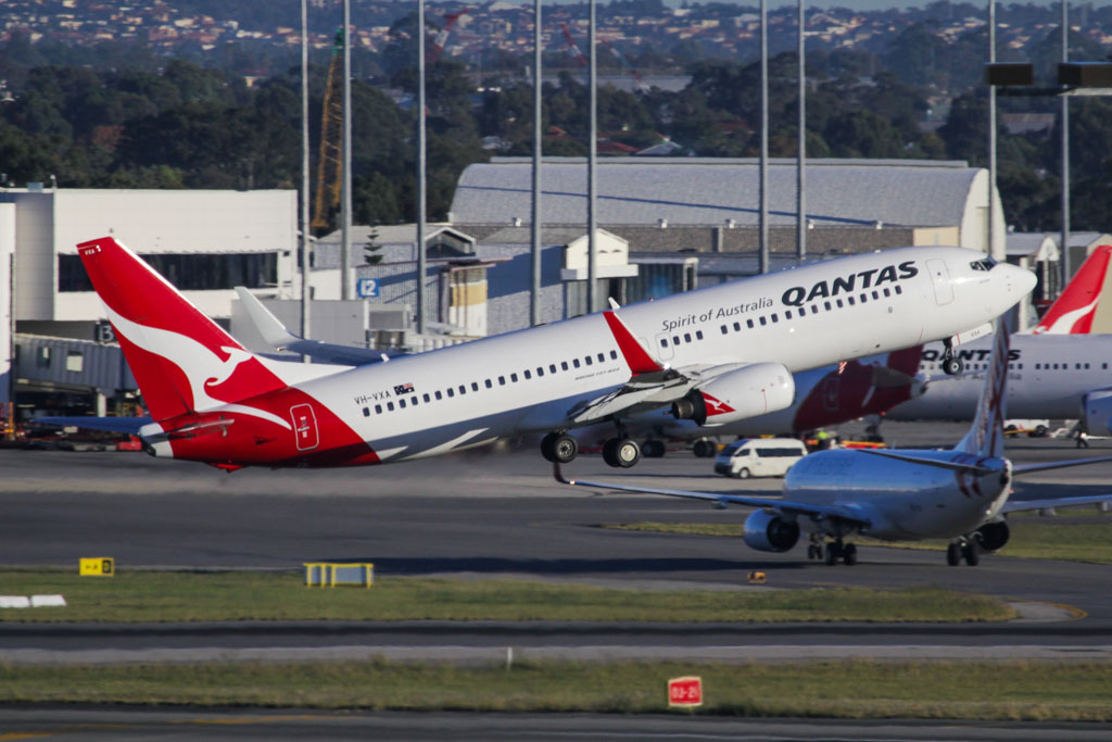 "VH-VXA Boeing 737-838 (cn 29551/1042) of Qantas, named ""Broome"" at Perth Airport – Fri 24 May 2013"