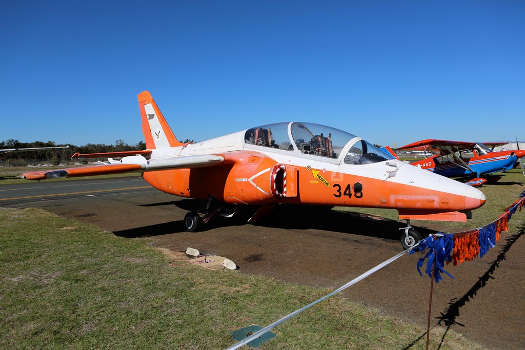 345/VH-CJU SIAI-Marchetti S-211 (cn 037/02-026) of Royston Ferris/IAP Group at Jandakot Airport – Sun 26 May 2013 – ACFT Open Day