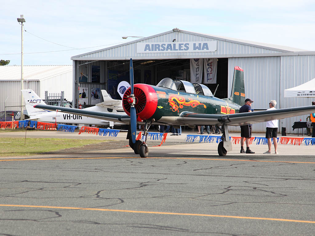 VH-AYU / 4532020 Nanchang CJ-6A (cn 4532020) of Denis MacNeall at Jandakot Airport - Sun 26 May 2013 - ACFT Open Day