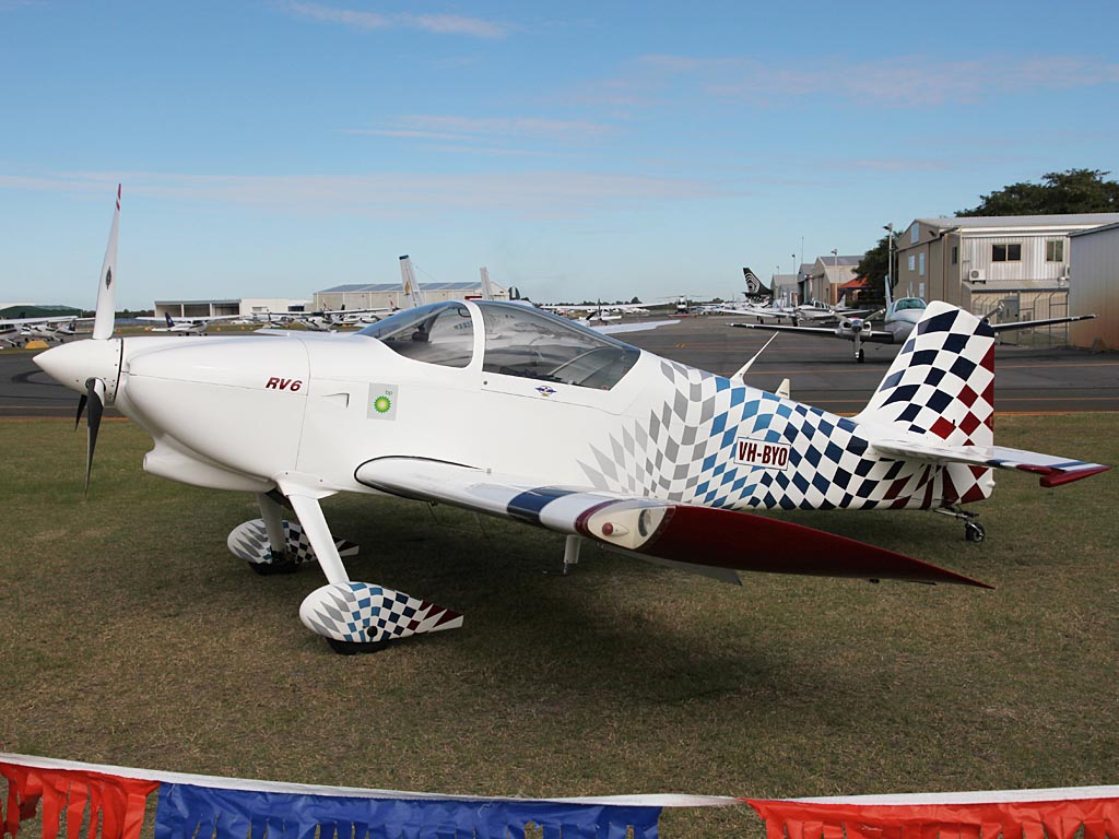 VH-BYO Vans RV-6 (cn DA10) of Norman Bloch at Jandakot Airport – Sun 26 May 2013 – ACFT Open Day