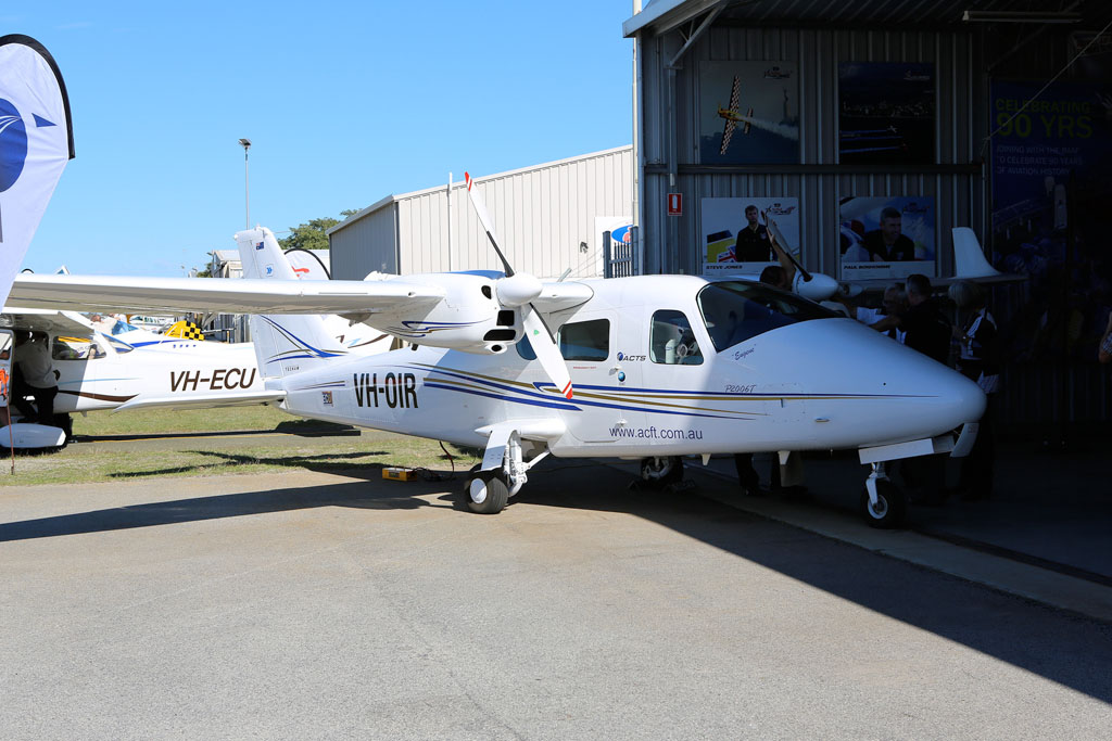 VH-OIR Tecnam P2006T (cn 019) of ACFT / Aviation Concepts and Training Services Pty Ltd at Jandakot Airport – Sun 26 May 2013 – ACFT Open Day