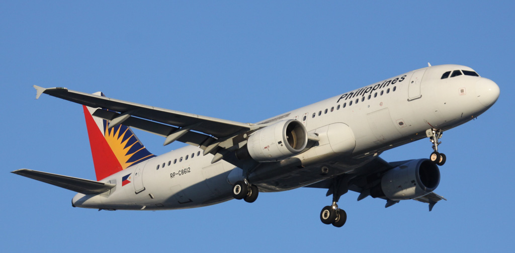 RP-C8612 Airbus A320-214 (cn 3553) of Philippine Airlines at Perth Airport – Mon 3 June 2013