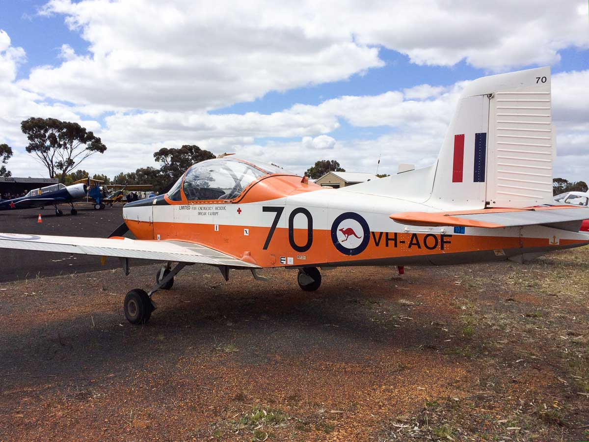 Aof: 12 October 2013: New Runway Opening Fly-In, Wagin Airfield