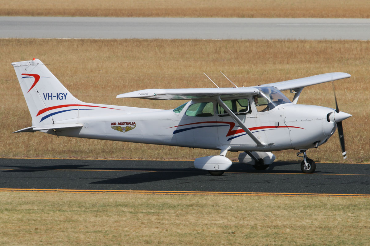 VH-IGY Cessna 172N Skyhawk II (MSN 17269697) of Air Australia International Pty Ltd, at Jandakot Airport - Thu 21 November 2013.