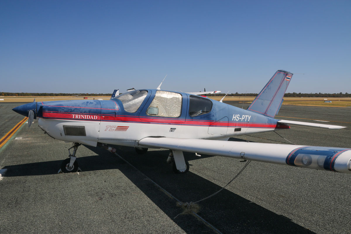 HS-PTY SOCATA TB-21 Trinidad TC (MSN 1473) owned by Kamthorn Aunhirunskul at Jandakot Airport – Tue 3 December 2013