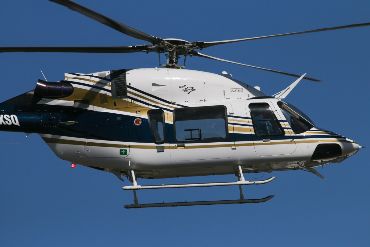 VH-XSQ Bell 427 (MSN 56010) owned by Heliwest Leasing Pty Ltd, at Jandakot Airport – Tue 3 December 2013