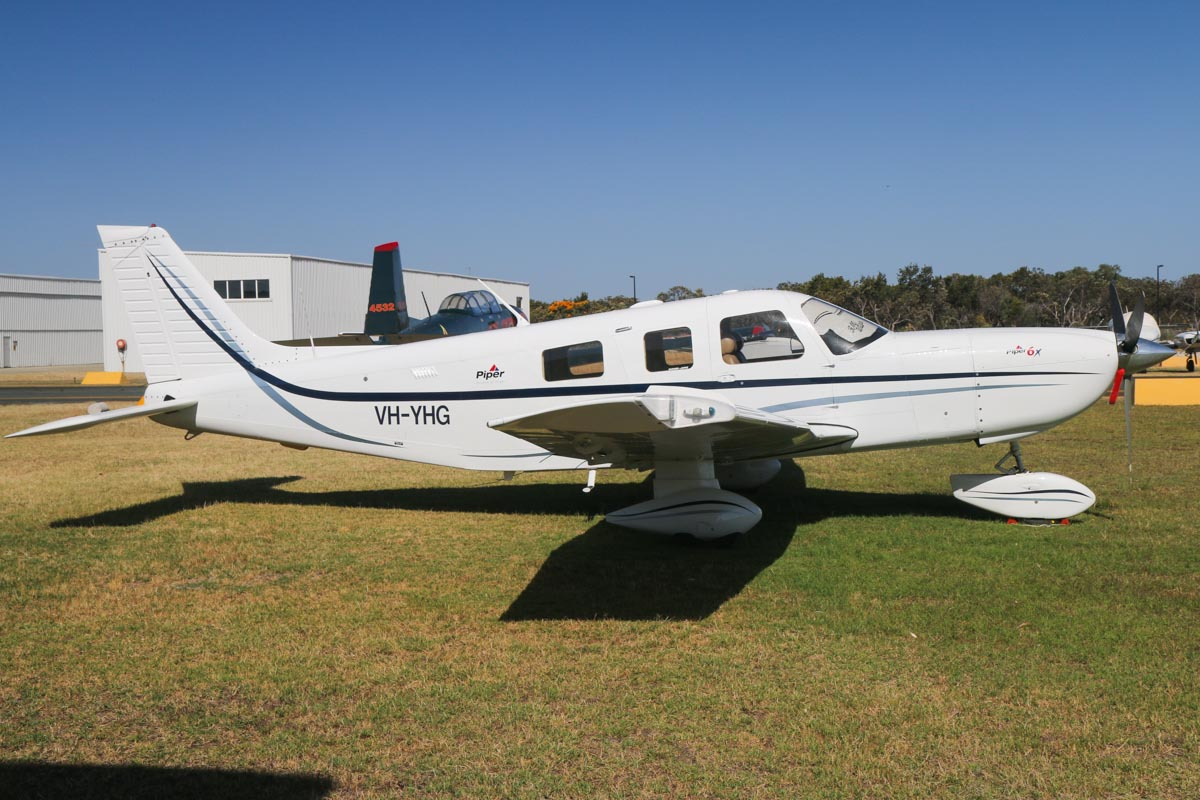 VH-YHG Piper PA-32-301FT 6X (MSN 3232028) owned by Alexander Pearse, Mingenew, WA, at Jandakot Airport – Tue 3 December 2013