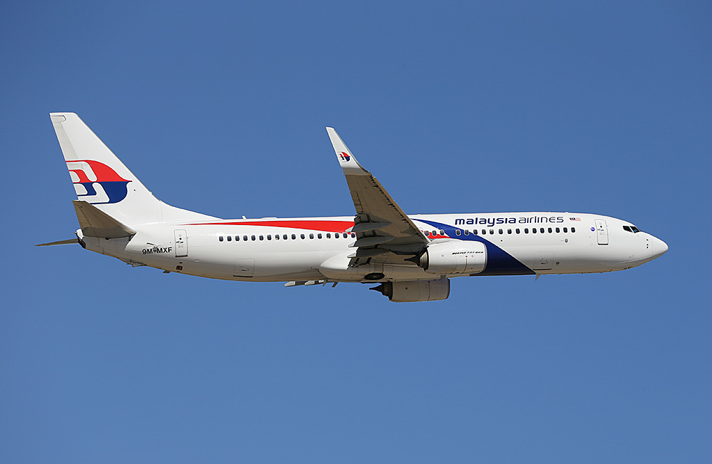 9M-MXF Boeing 737-8H6 (MSN 40133/3806) of Malaysia Airlines at Perth Airport – Sun 9 February 2014. Photo © Keith Anderson