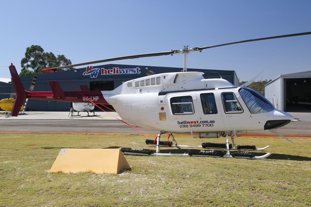 VH-LHP Bell 206L-3 LongRanger III (MSN 51002) owned by Heliwest (Rotorwest Pty Ltd), at Jandakot Airport - Tue 11 February 2014. Photo © David Eyre