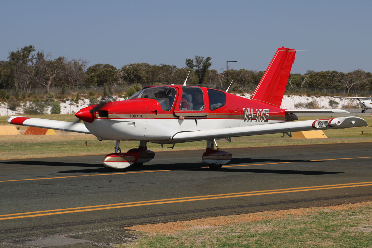 VH-XYE SOCATA TB-10 Tobago (MSN 1018) owned by S & K Investments Pty Ltd at Jandakot Airport - Tue 11 February 2014. Photo © David Eyre