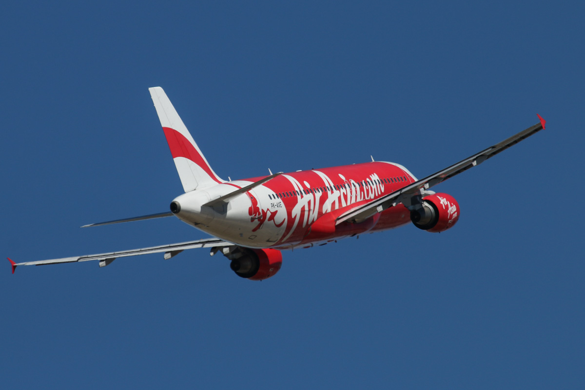 PK-AXE Airbus A320-216 (MSN 3715) of Indonesia AirAsia, at Perth Airport – Wed 19 February 2014. Photo © David Eyre