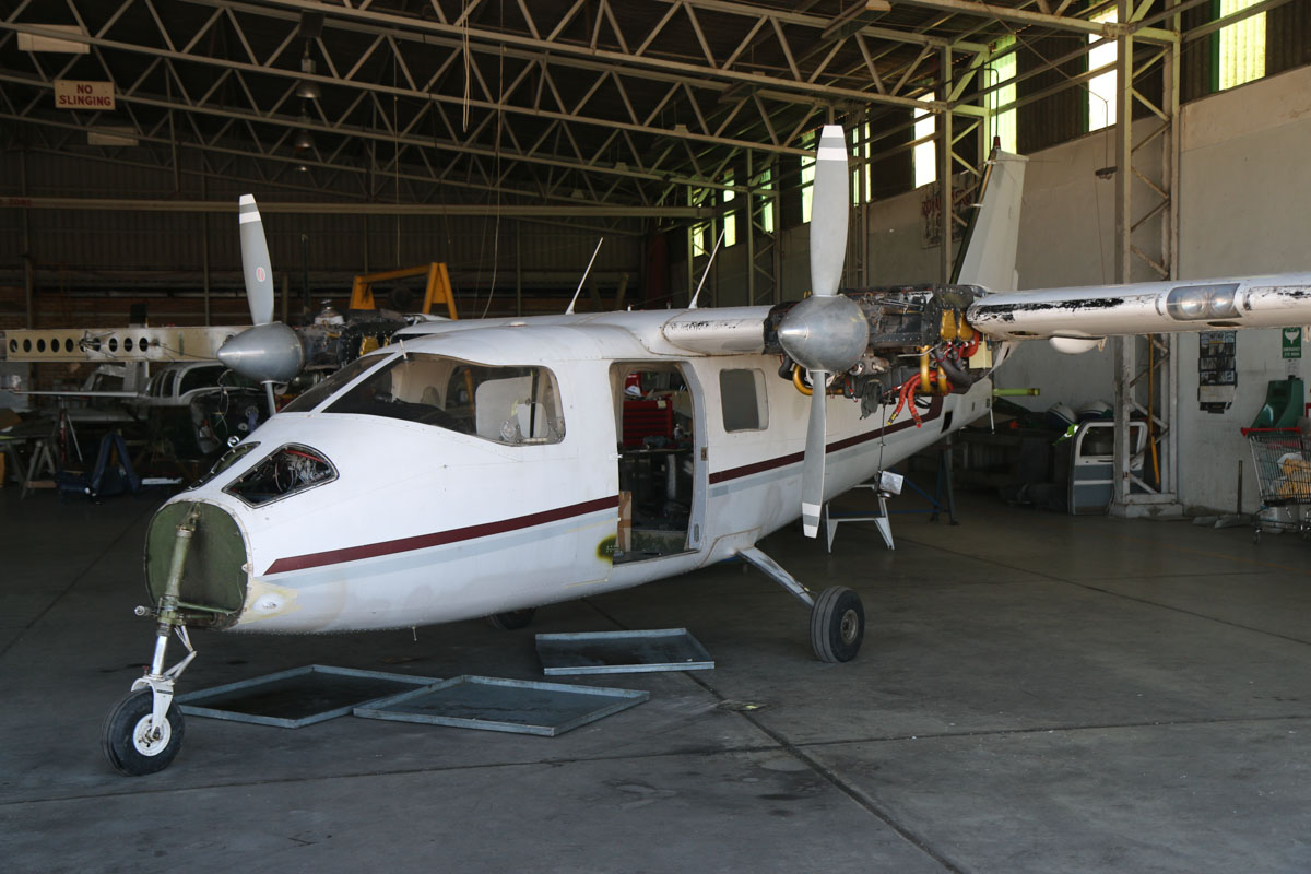 VH-WZG Partenavia P68B (MSN 63) owned by Ross Campbell, at Jandakot Airport – Sat 22 February 2014. Photo © David Eyre