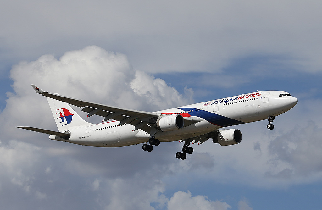 9M-MTC Airbus A330-323X (MSN 1229) of Malaysia Airlines, at Perth Airport - Sat 22 February 2014. Photo © Keith Anderson
