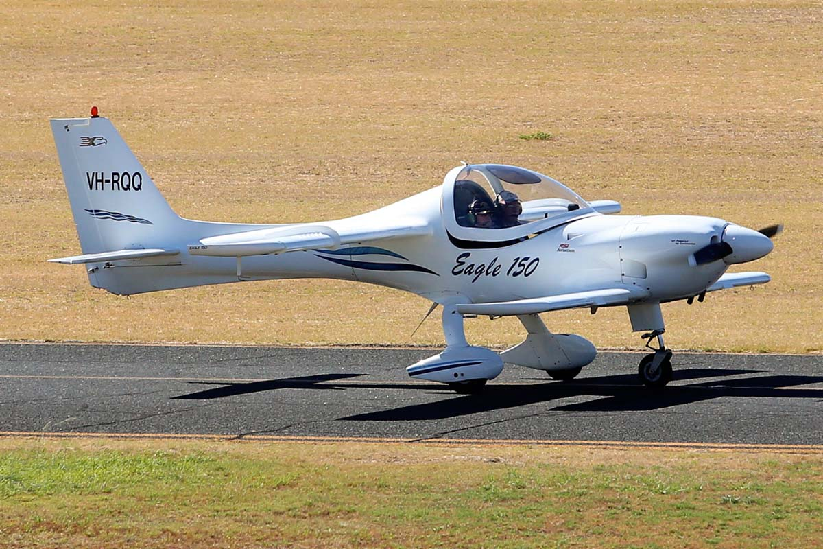 VH-RQQ Eagle X-TS 150 (MSN 017) owned by Geoffrey Danes at Jandakot Airport – Sat 1 March 2014. Photo © Matt Hayes