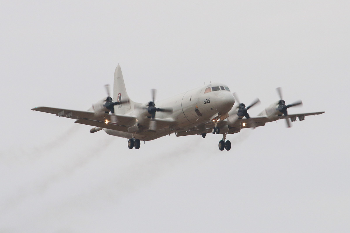 950905 Lockheed P-3C-III+ Orion (MSN 285K-5834) of the Republic of Korea Navy, 613 Navy Squadron, based at Pohang Air Base, South Korea, at RAAF Pearce – Tue 25 March 2014. Photo © David Eyre