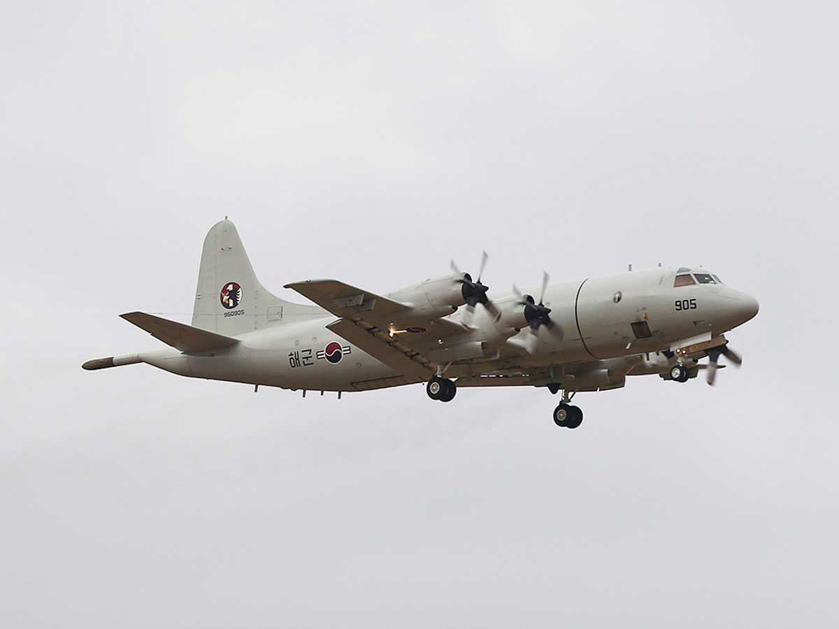 950905 Lockheed P-3C-III+ Orion (MSN 285K-5834) of the Republic of Korea Navy, 613 Navy Squadron, based at Pohang Air Base, South Korea, at RAAF Pearce - Tue 25 March 2014. Photo © Keith Anderson