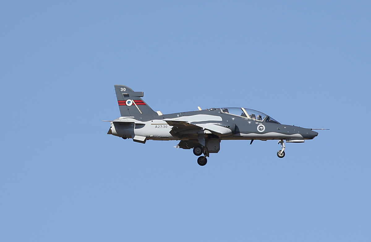 A27-30 BAE Systems Hawk 127 (MSN DT30) of RAAF, 79 Squadron at RAAF Pearce – Thu 27 March 2014. Photo © Keith Anderson