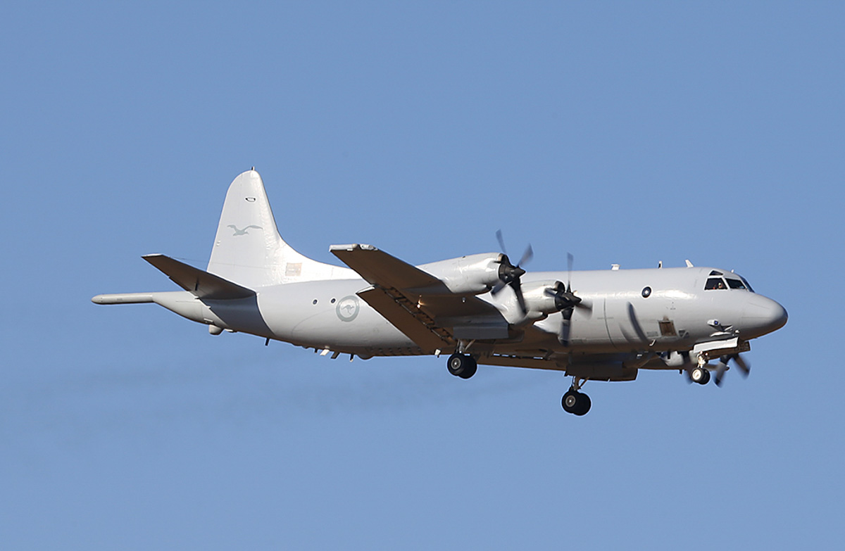 A9-659 Lockheed AP-3C Orion (MSN 285D-5784) of RAAF, 11 Squadron, based at RAAF Base Edinburgh, SA, at RAAF Pearce – Thu 27 March 2014. Photo © Keith Anderson
