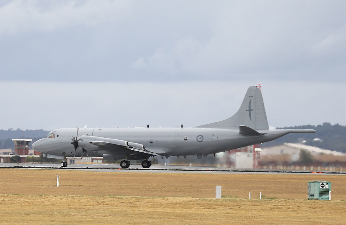NZ4204 Lockheed P-3K2 Orion (MSN 5202) of 5 Squadron, Royal New Zealand Air Force, based at RNZAF Auckland, New Zealand, at RAAF Pearce – Sat 29 March 2014. Photo © Keith Anderson