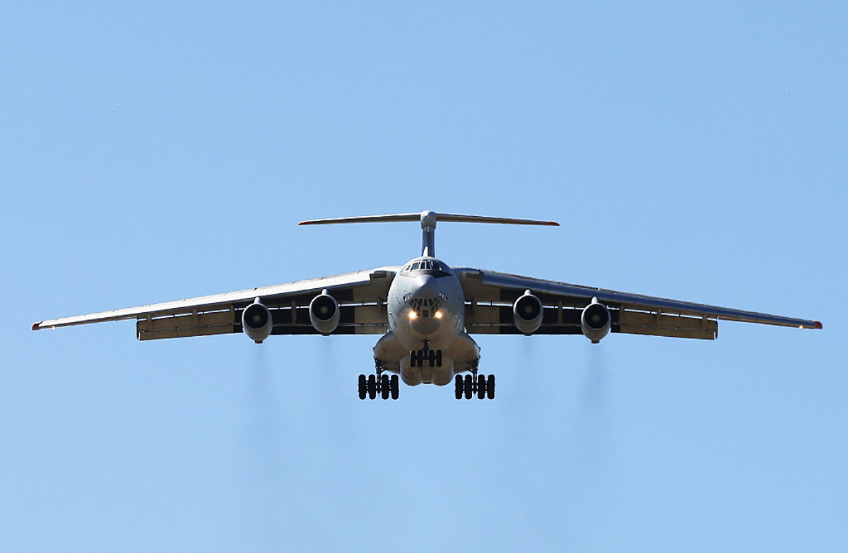 20541 Ilyushin IL-76MD (MSN 0083486570) of the Peoples' Liberation Army Air Force (PLAAF), 13th Transport Division, 39th Air Regiment, Dangyang, China, at Perth Airport – Tue 1 April 2014. Photo © Keith Anderson