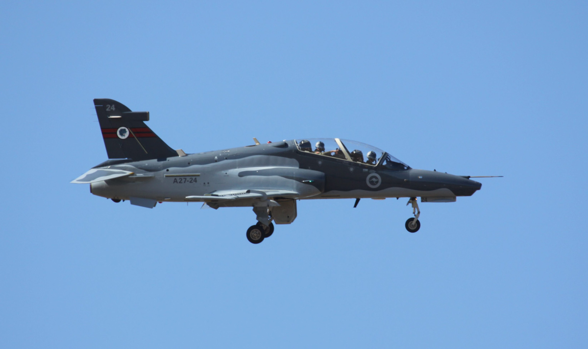 A27-24 BAE Systems Hawk 127 (MSN DT24) of RAAF, 79 Squadron, at RAAF Pearce – Wed 2 April 2014. Photo © Steve Jaksic