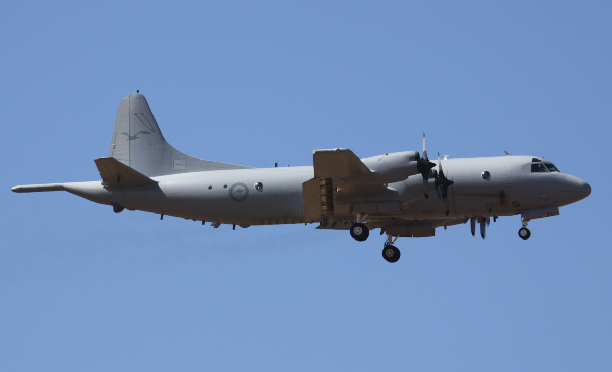 A9-664 Lockheed AP-3C Orion (MSN 285D-5793) of the RAAF, 11 Squadron, RAAF Base Edinburgh, SA, at RAAF Pearce – Wed 2 April 2014. Photo © Steve Jaksic