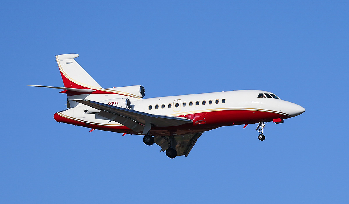 VH-PPD Dassault Falcon 900C (MSN 185) of Maxem Aviation, operated for Paspaley Pearling Company Pty Ltd, at Perth Airport – Sun 13 April 2014. Photo © Keith Anderson