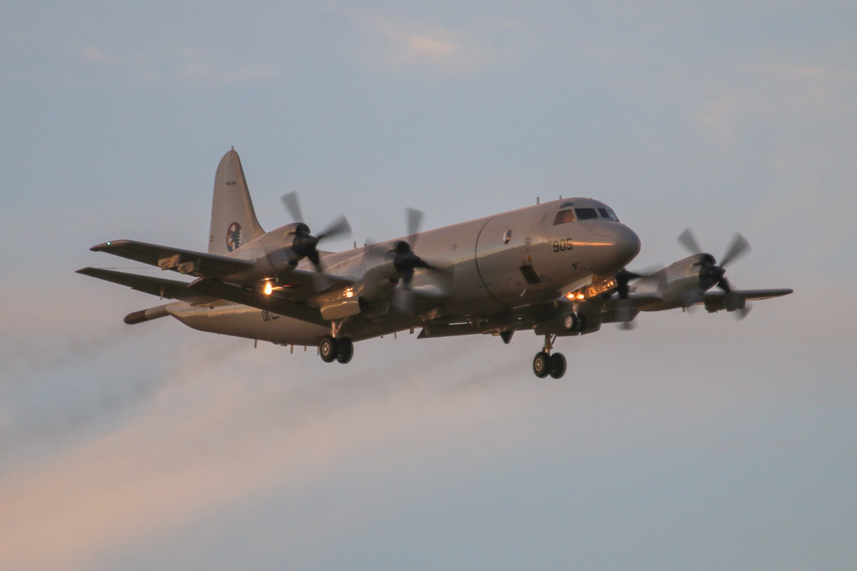 950905 Lockheed P-3C-III+ Orion (MSN 285K-5834) of 613 Navy Squadron, Republic of Korea Navy, at RAAF Pearce – Thu 17 April 2014. Photo © David Eyre