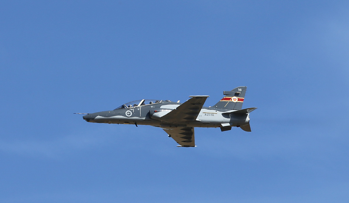 A27-16 BAE Systems Hawk 127 (MSN DT16) of 79 Squadron, RAAF, at RAAF Pearce – Thu 17 April 2014. Photo © Keith Anderson