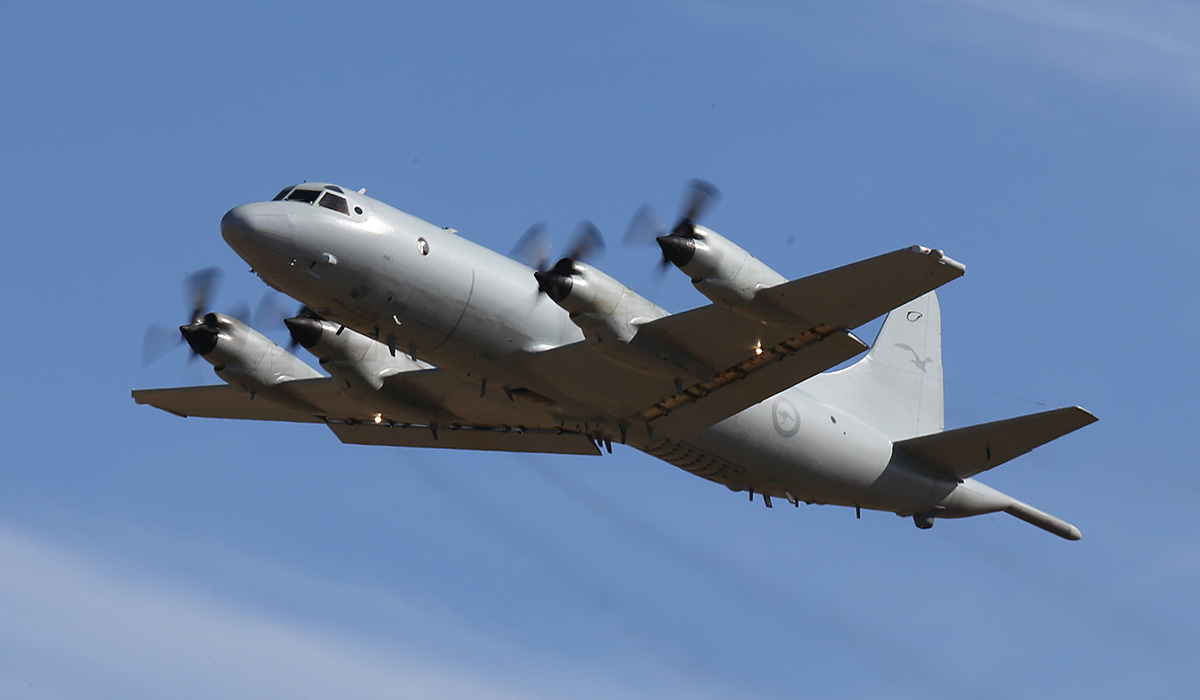 A9-662 Lockheed AP-3C Orion (MSN 285D-5789) of 11 Squadron, RAAF, at RAAF Pearce – Thu 17 April 2014. Photo © Keith Anderson
