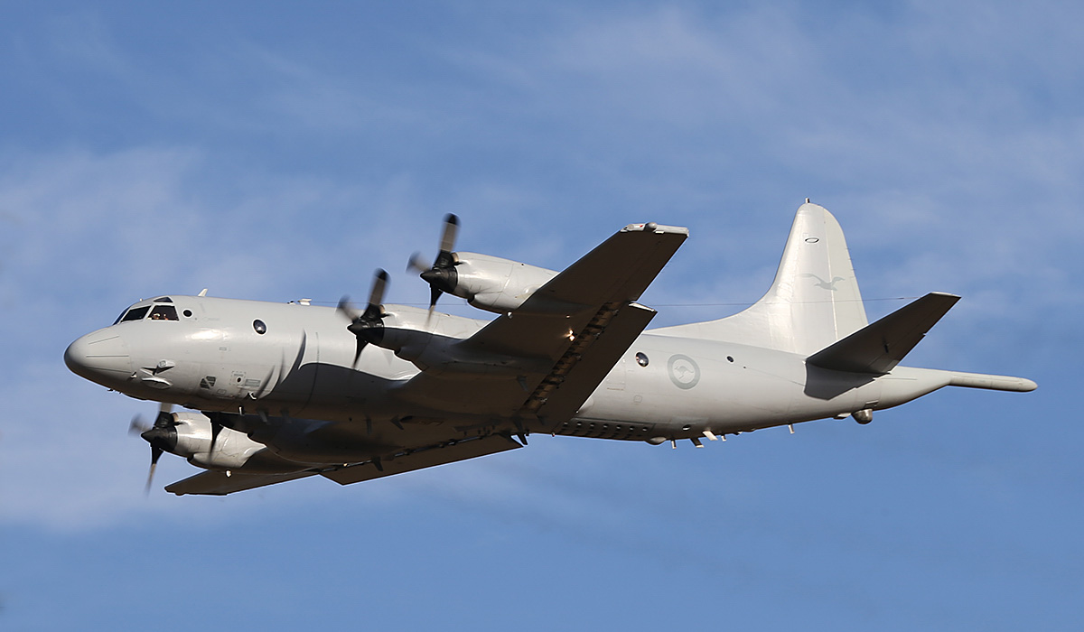 A9-664 Lockheed AP-3C Orion (MSN 285D-5793) of 11 Squadron, RAAF, at RAAF Pearce – Thu 17 April 2014. Photo © Keith Anderson