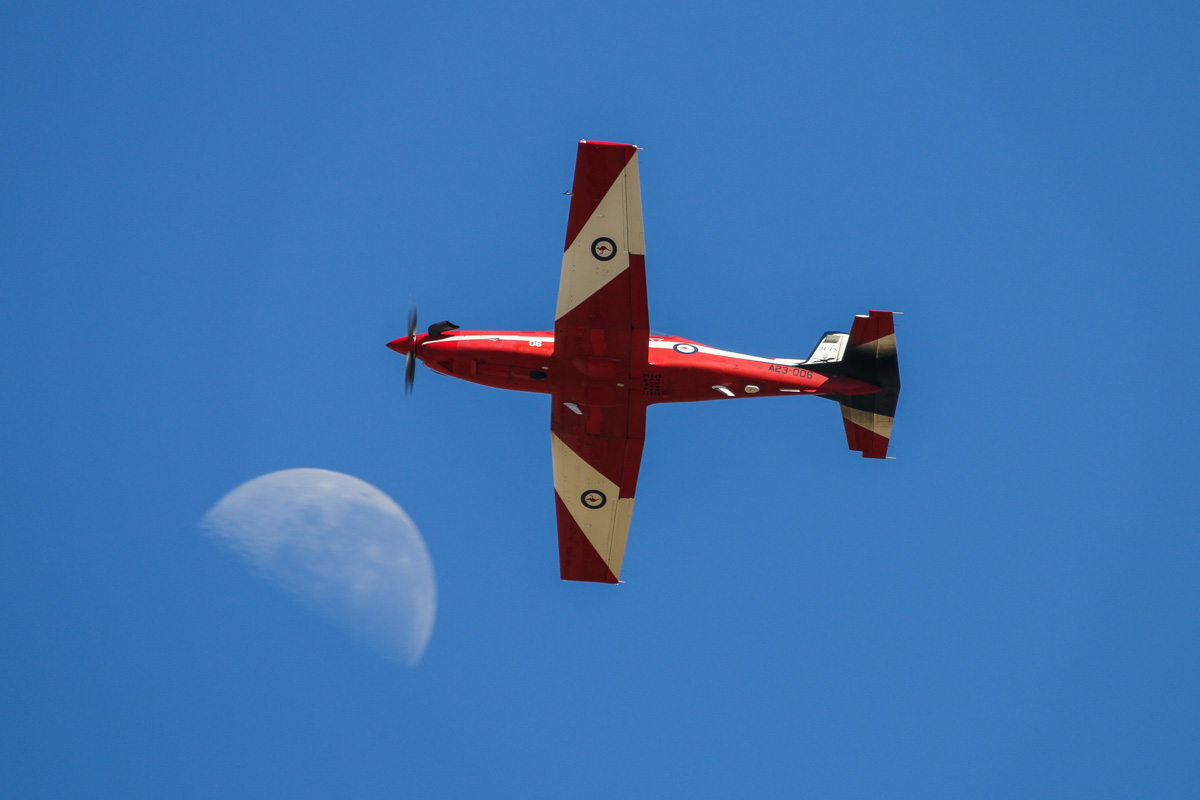 A23-006 Pilatus PC-9/A (MSN 506) of 2 Flying Training School (2FTS), RAAF, at RAAF Pearce - Tue 22 April 2014. Photo © David Eyre