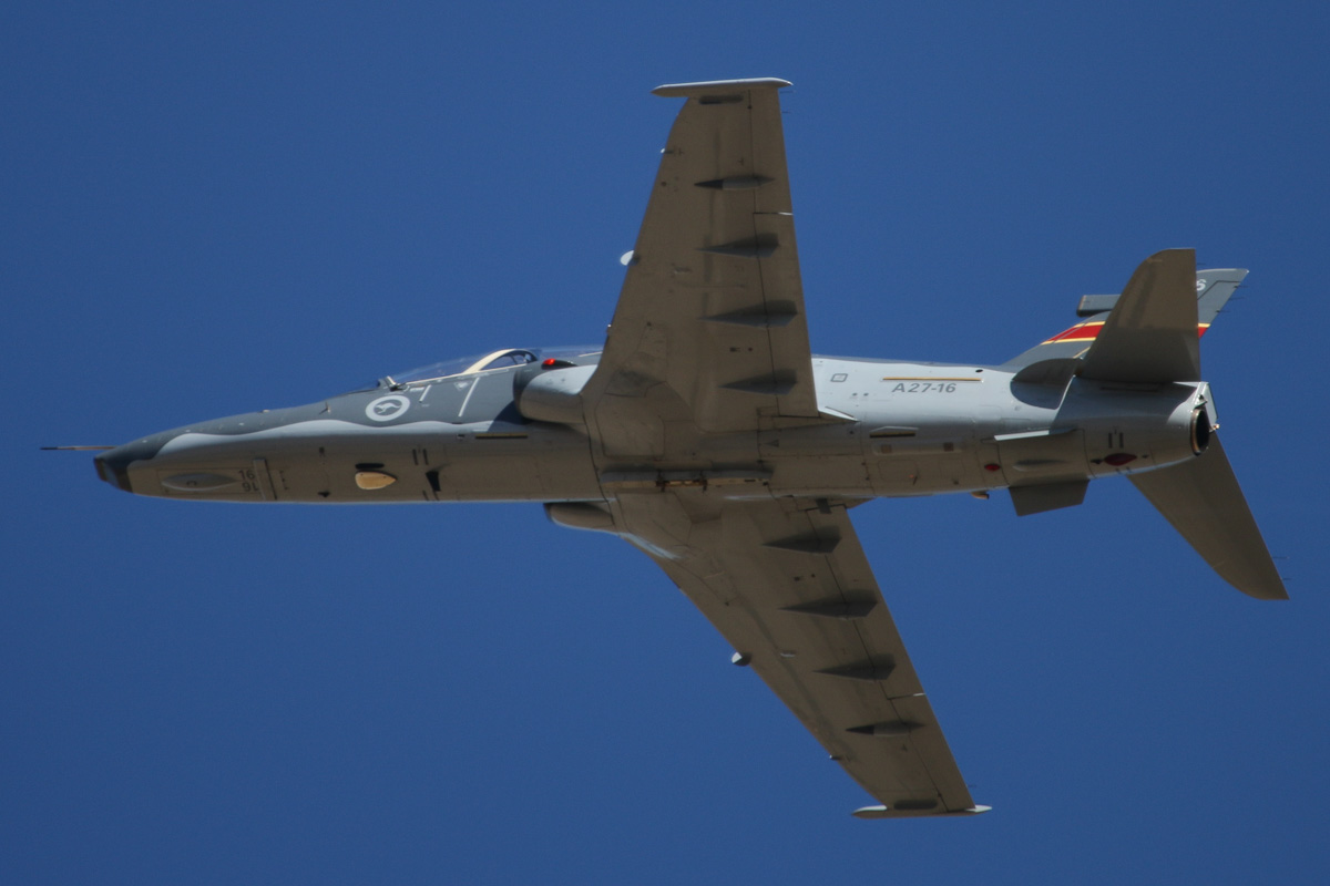 A27-16 BAE Systems Hawk 127 (MSN DT16) of 79 Squadron, RAAF, at RAAF Pearce – Tue 22 April 2014. Photo © David Eyre