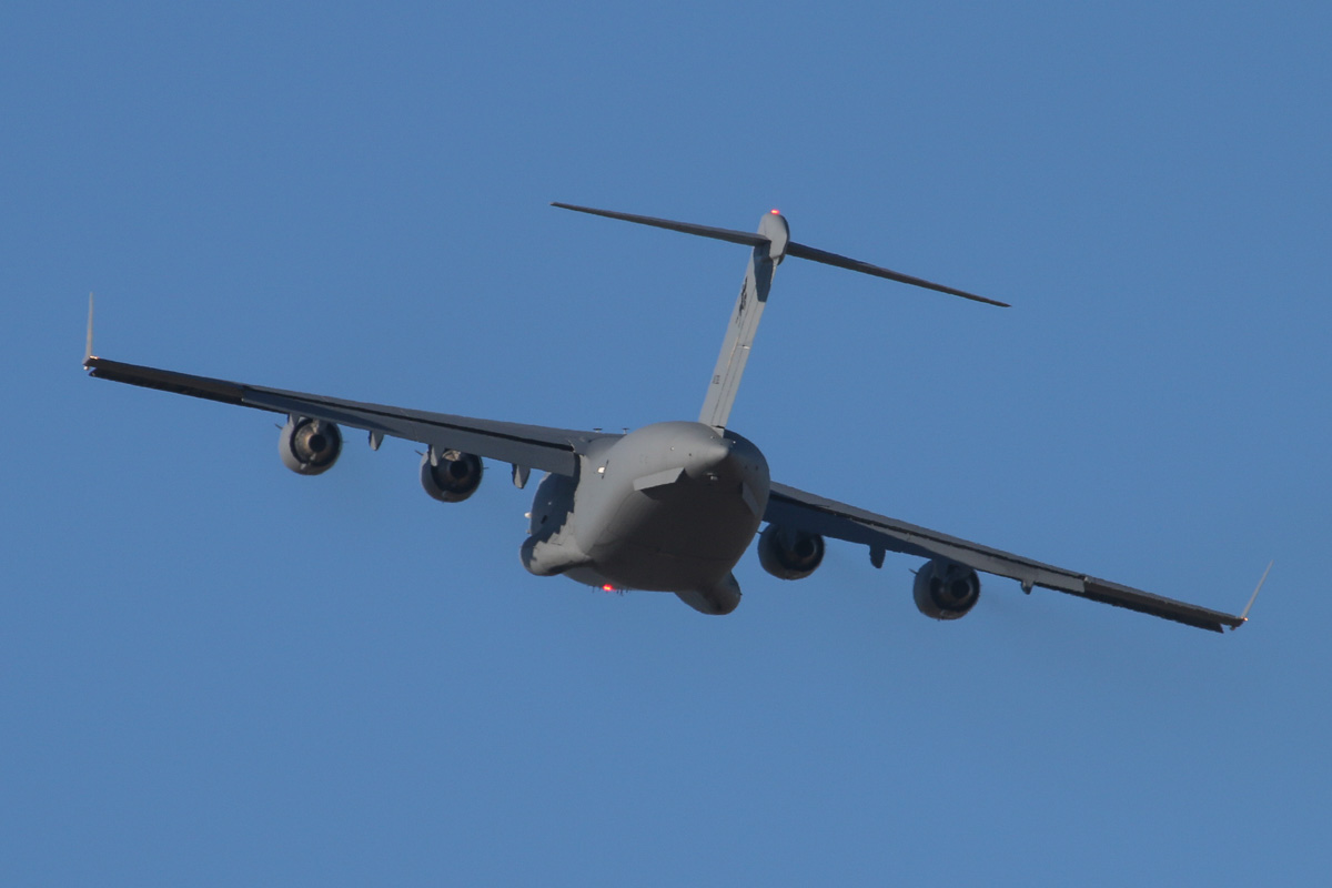 A41-209 Boeing C-17A Globemaster III (MSN F-184/AUS-4, ex 06-0209) of 36 Squadron, RAAF, at RAAF Pearce - Tue 22 April 2014. Photo © David Eyre