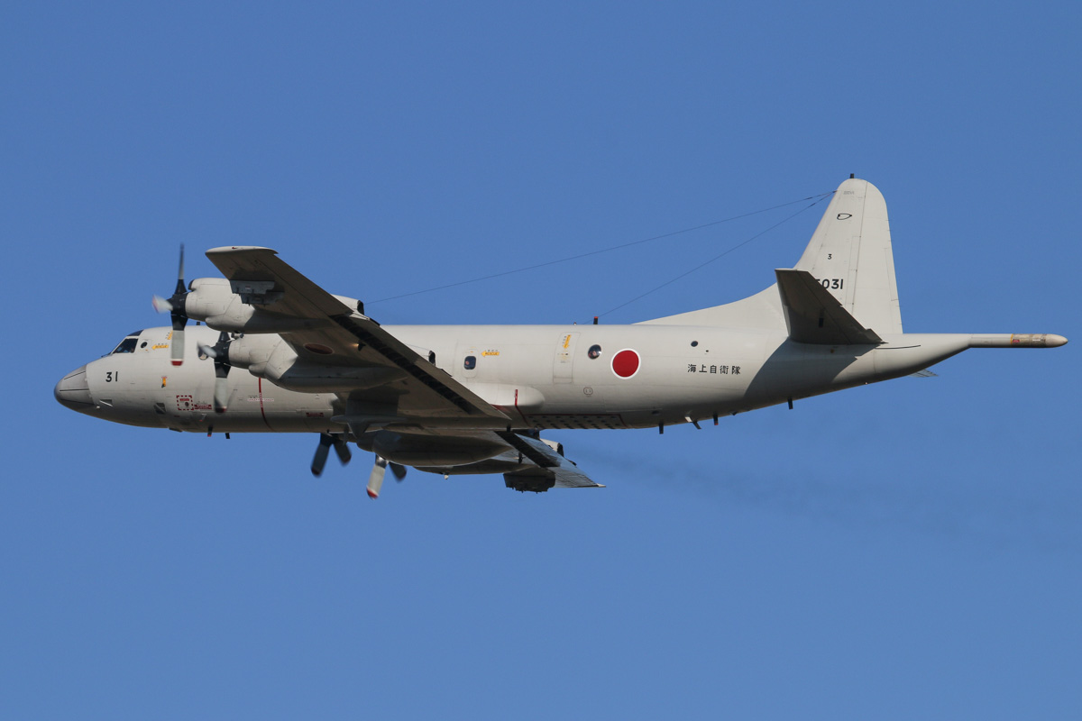 5031 Lockheed (Kawasaki) P-3C-II½ Orion (MSN 9028) of 3 Kokutai, Japan Maritime Self Defence Force, at RAAF Pearce – Wed 30 April 2014. Photo © David Eyre