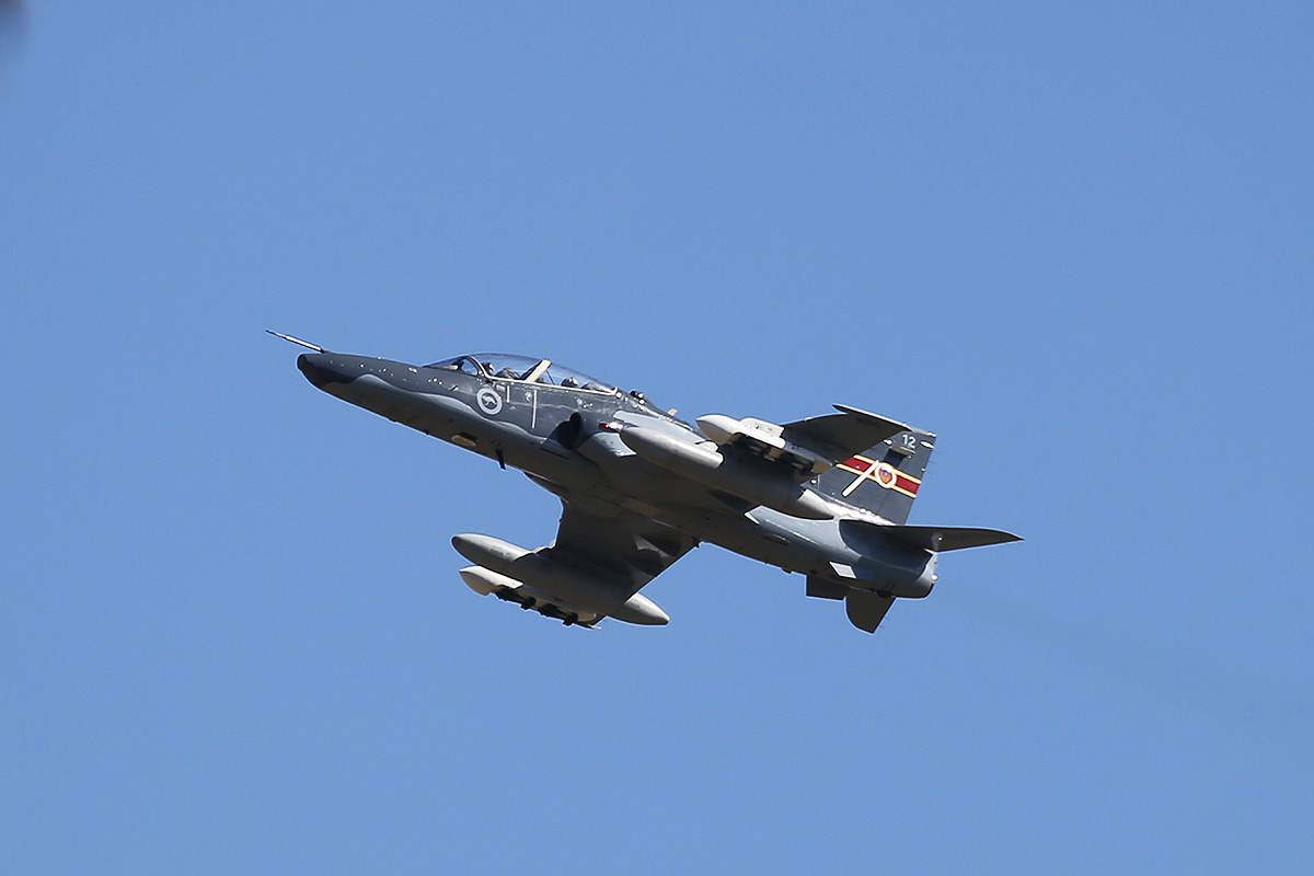 A27-12 BAE Systems Hawk 127 (MSN DT12) of 79 Squadron, RAAF, at RAAF Pearce – Wed 30 April 2014. Photo © Keith Anderson